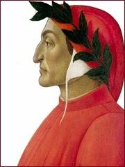 Sandro Boticelli, Portrait Dante Alighieri (1495)