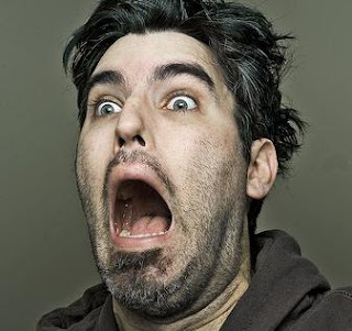 PIcture of a shocked man