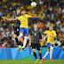 Alemanha perde do Brasil nos pênaltis e fica com a prata no futebol masculino