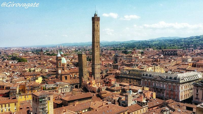 Bologna panorama torre prendiparte