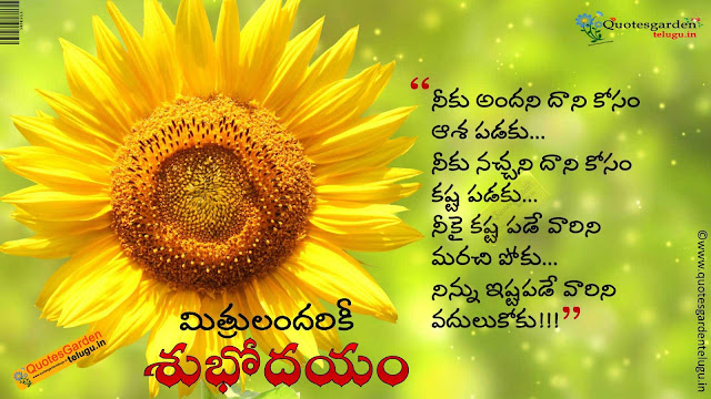 Best telugu good morning quotes 905