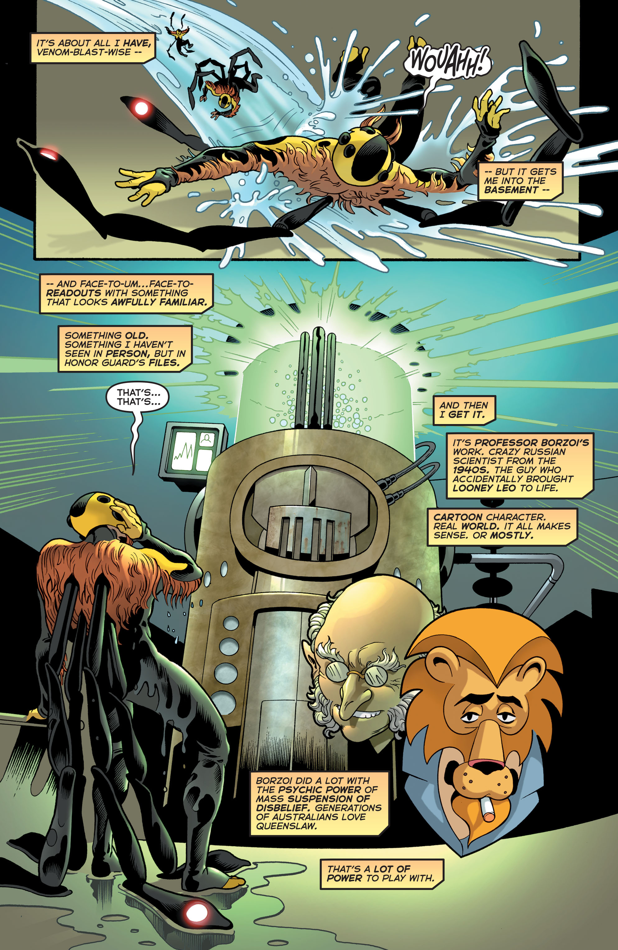 Read online Astro City comic -  Issue #28 - 21