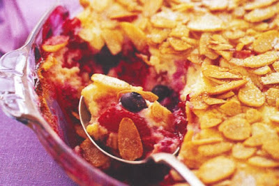 Lucy and Mollie's very berry dessert recipe