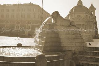 turismo roma praca popolo - Praças e Fontes de Roma