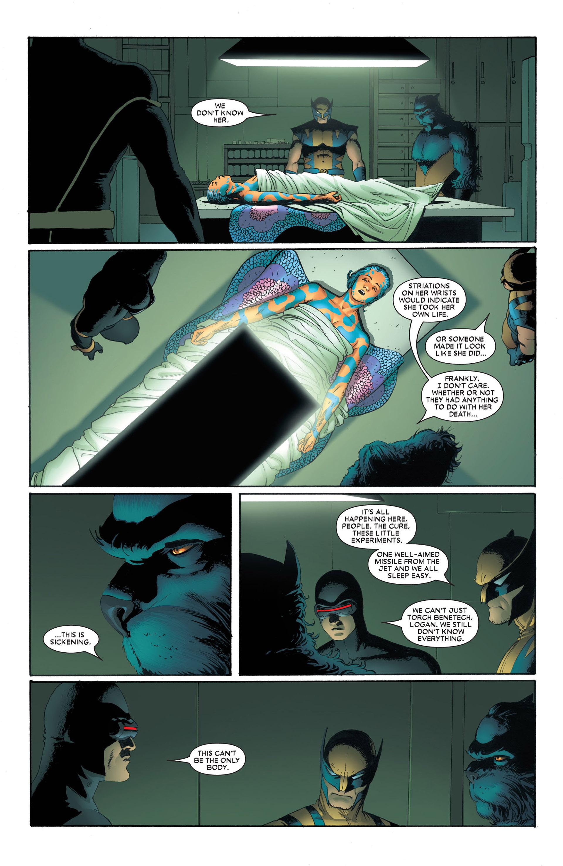 Read online Astonishing X-Men (2004) comic -  Issue #4 - 15