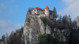 Bled castle is spectacular