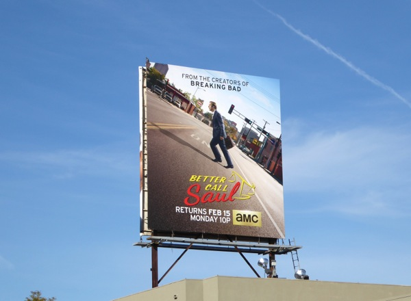 Better Call Saul series 2 billboard