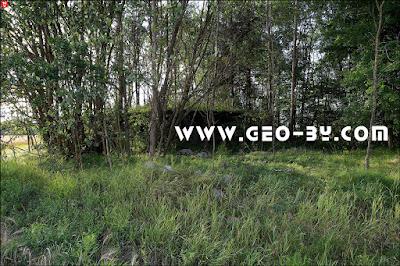 Второй полукапонир к югу от Жаулков (к северу от Колодезное)