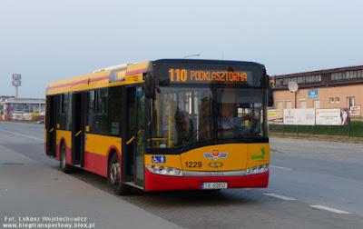 Solaris Urbino 12 eksploatowany przez MPK Kielce