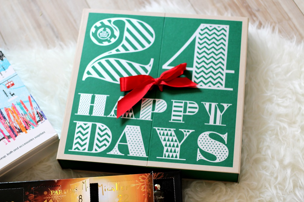 the body shop beauty advent calendar