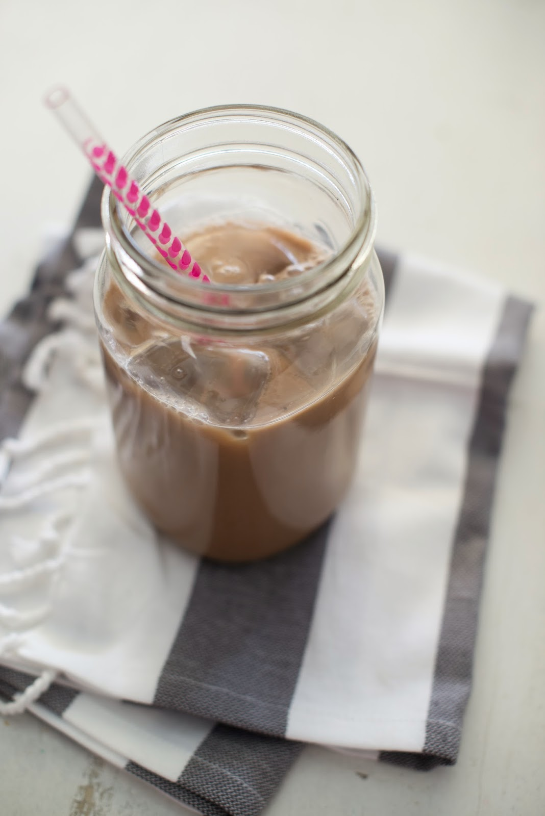 Skinny Almond Joy Iced Coffee Recipe
