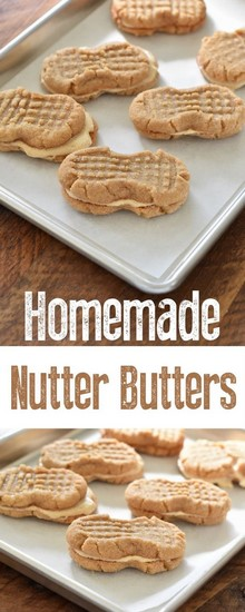 Homemade Nutter Butters