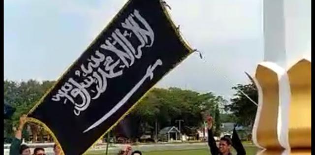 Polisi Klaim Tak Ketahui Pengibaran Bendera Tauhid Di Aksi Bela Tauhid