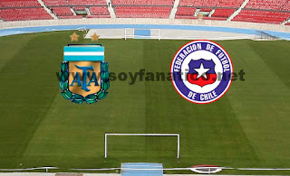 Chile vs Argentina 2016 por Clasificatorias