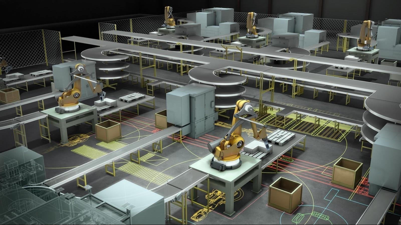 diseño de fabricas autodesk