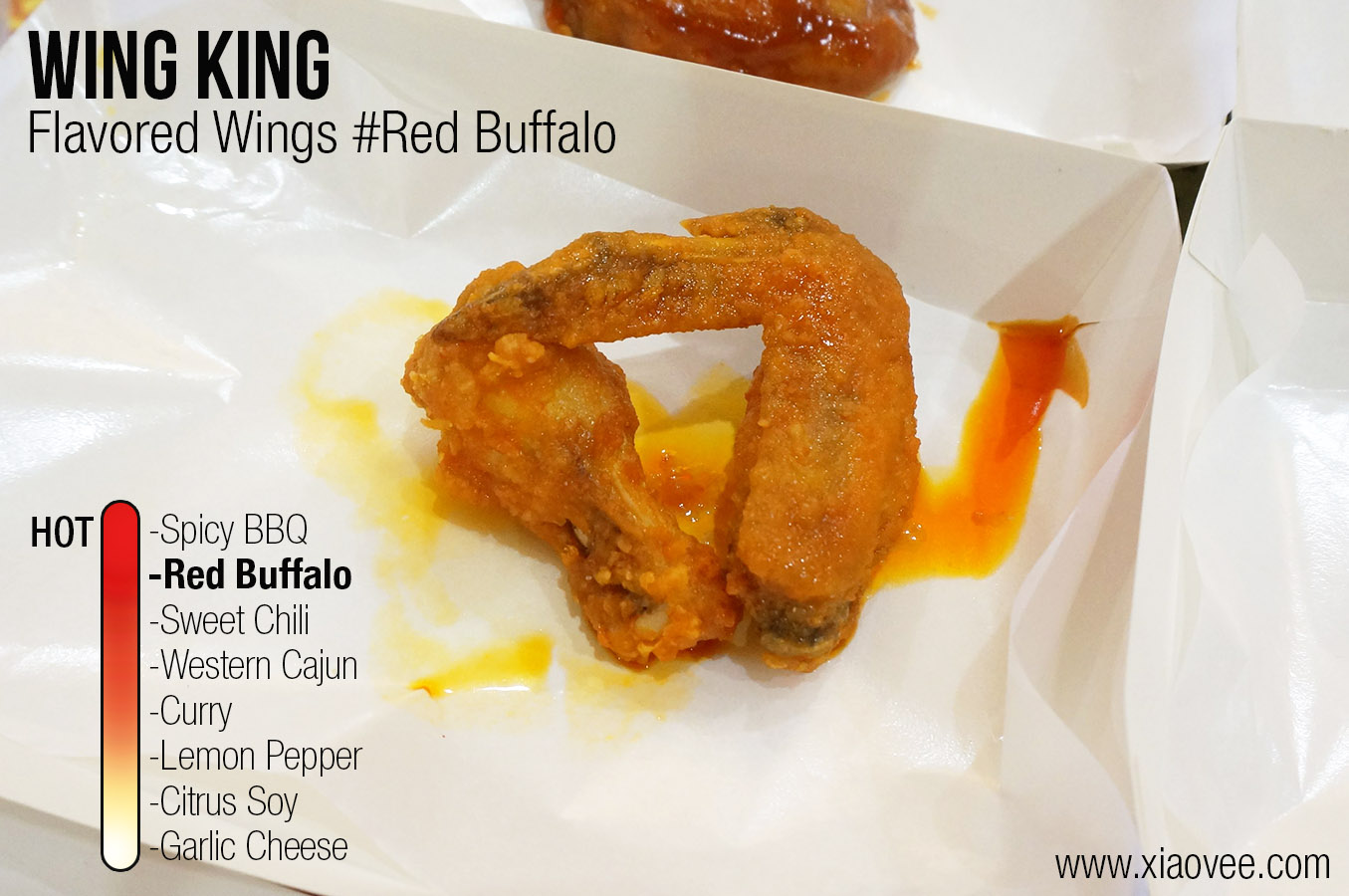 Wing King Surabaya, flavored wing king red buffalo