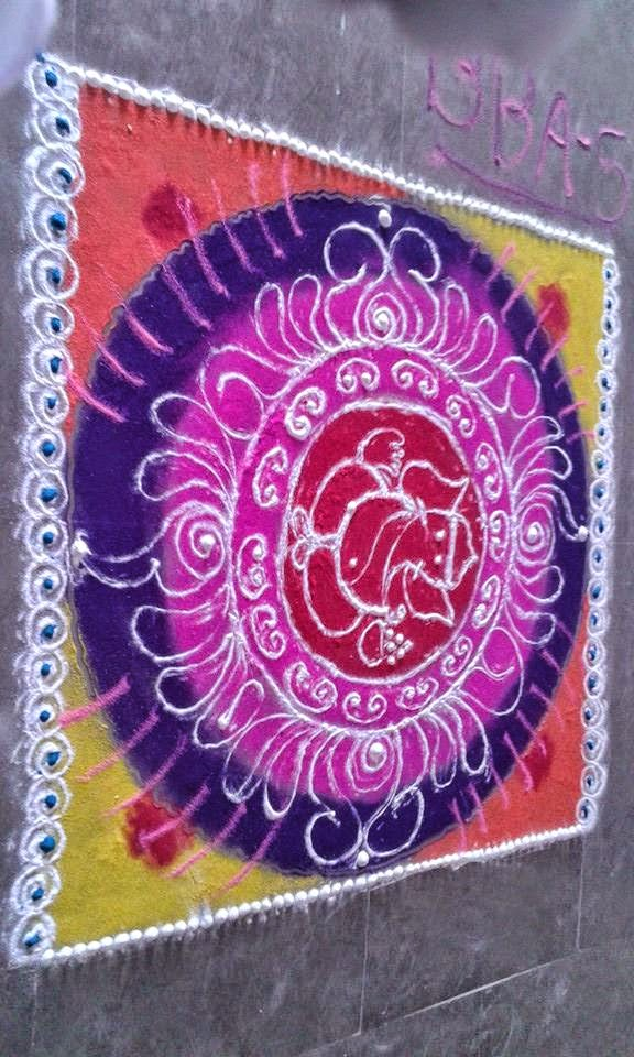 Rangoli Diwali Collection 9