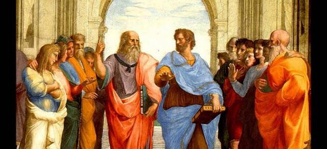 Aristoteles, Platon y la filosofia