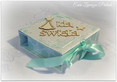 Pudełko Idą święta