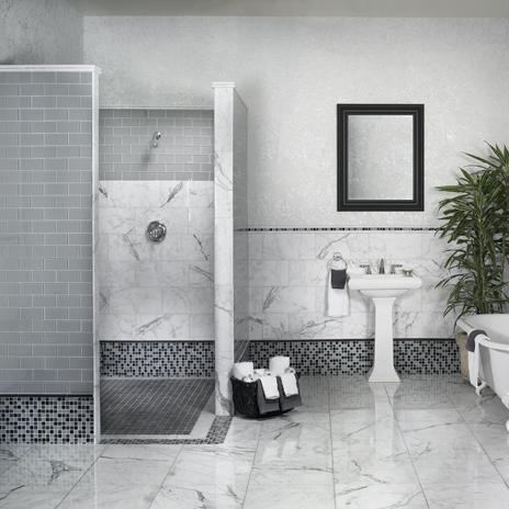 bathroom design ideas - Pedestal Sink Bathroom Design Ideas