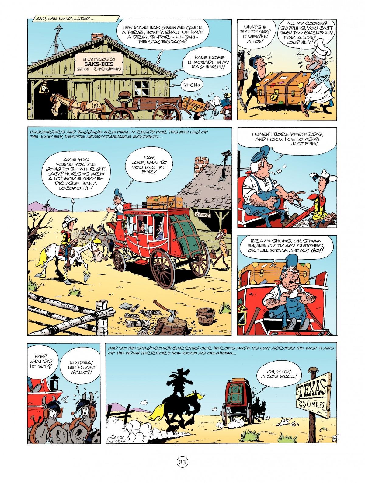 Read online A Lucky Luke Adventure comic -  Issue #39 - 33