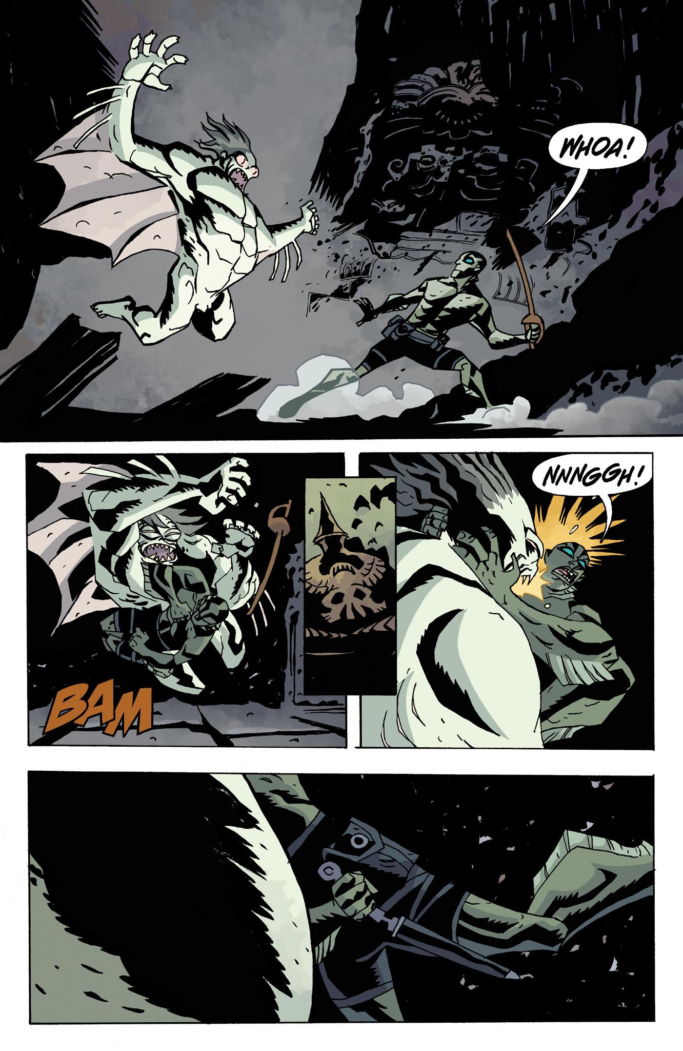Read online Abe Sapien comic -  Issue #8 - 20
