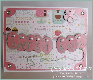 Sweet 60th Birthday card front