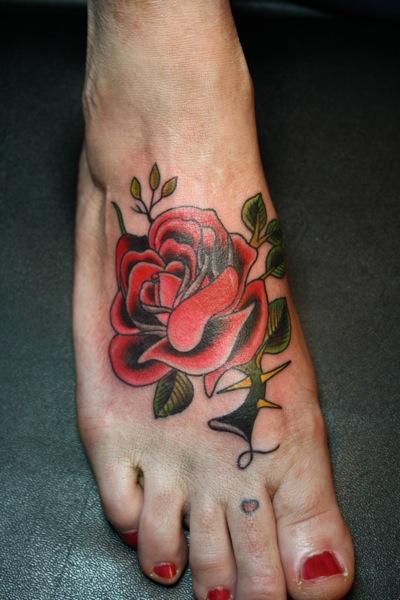 Plumas en los pies - 1 8
