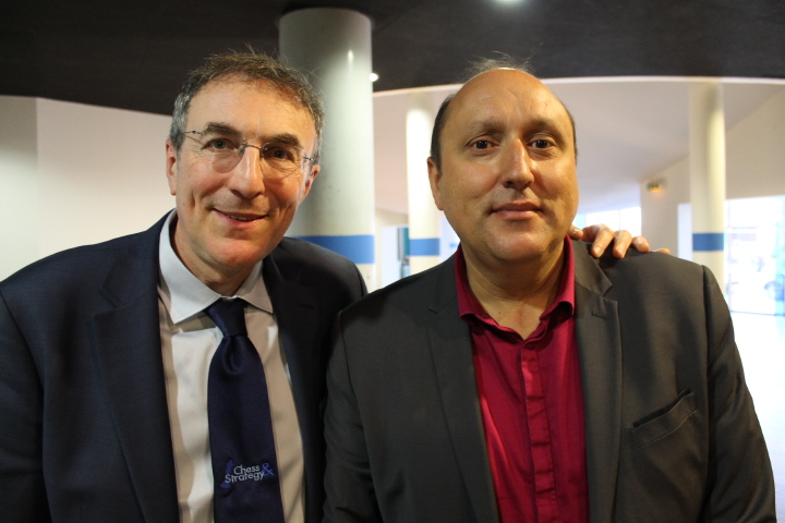 Philippe Dornbusch et Jean-Claude Moingt - Photo © Chess & Strategy
