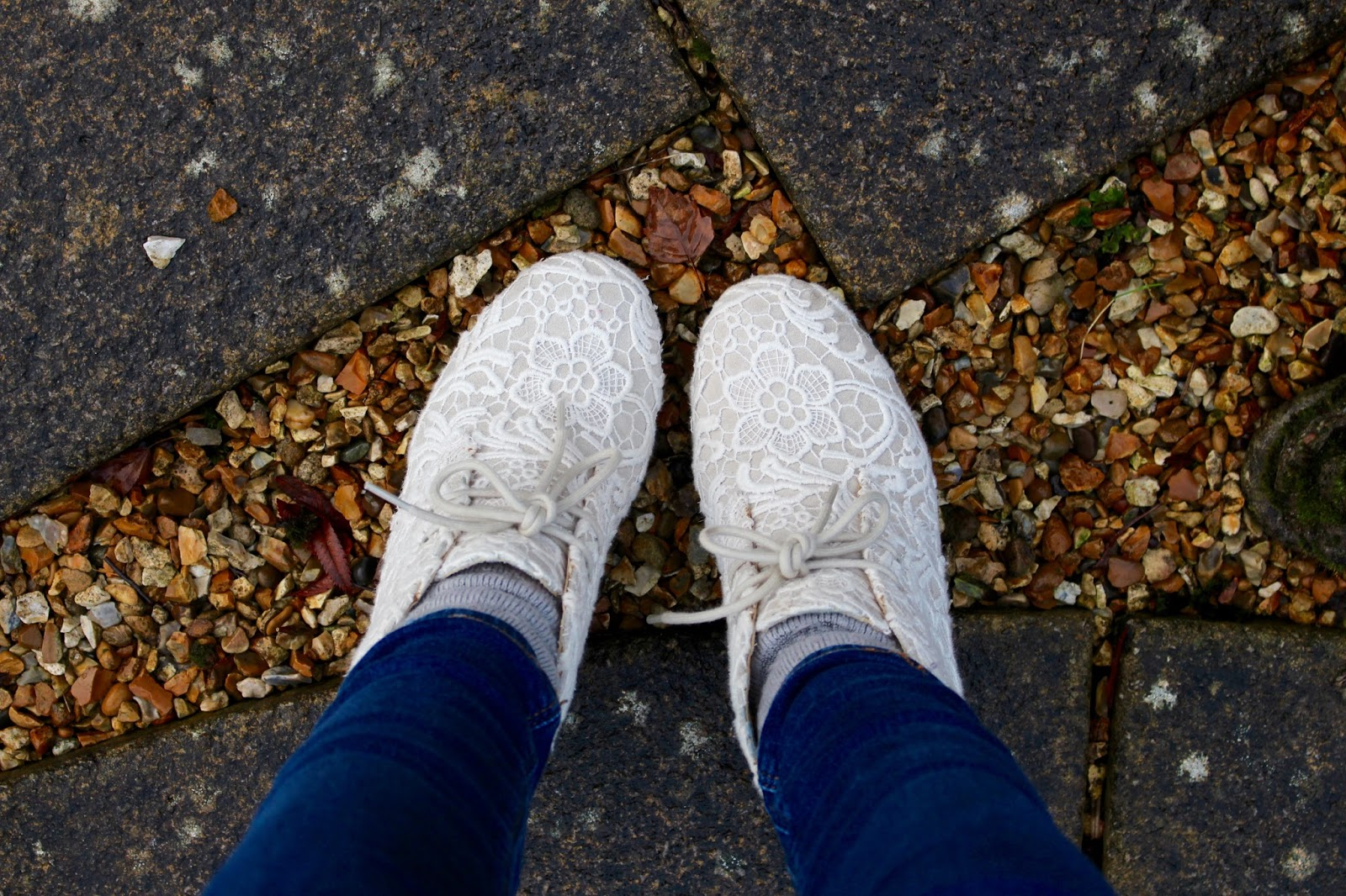 Lace boots Shoefie | Fake Fabulous