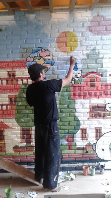 jasa lukis dinding mural jakarta murah