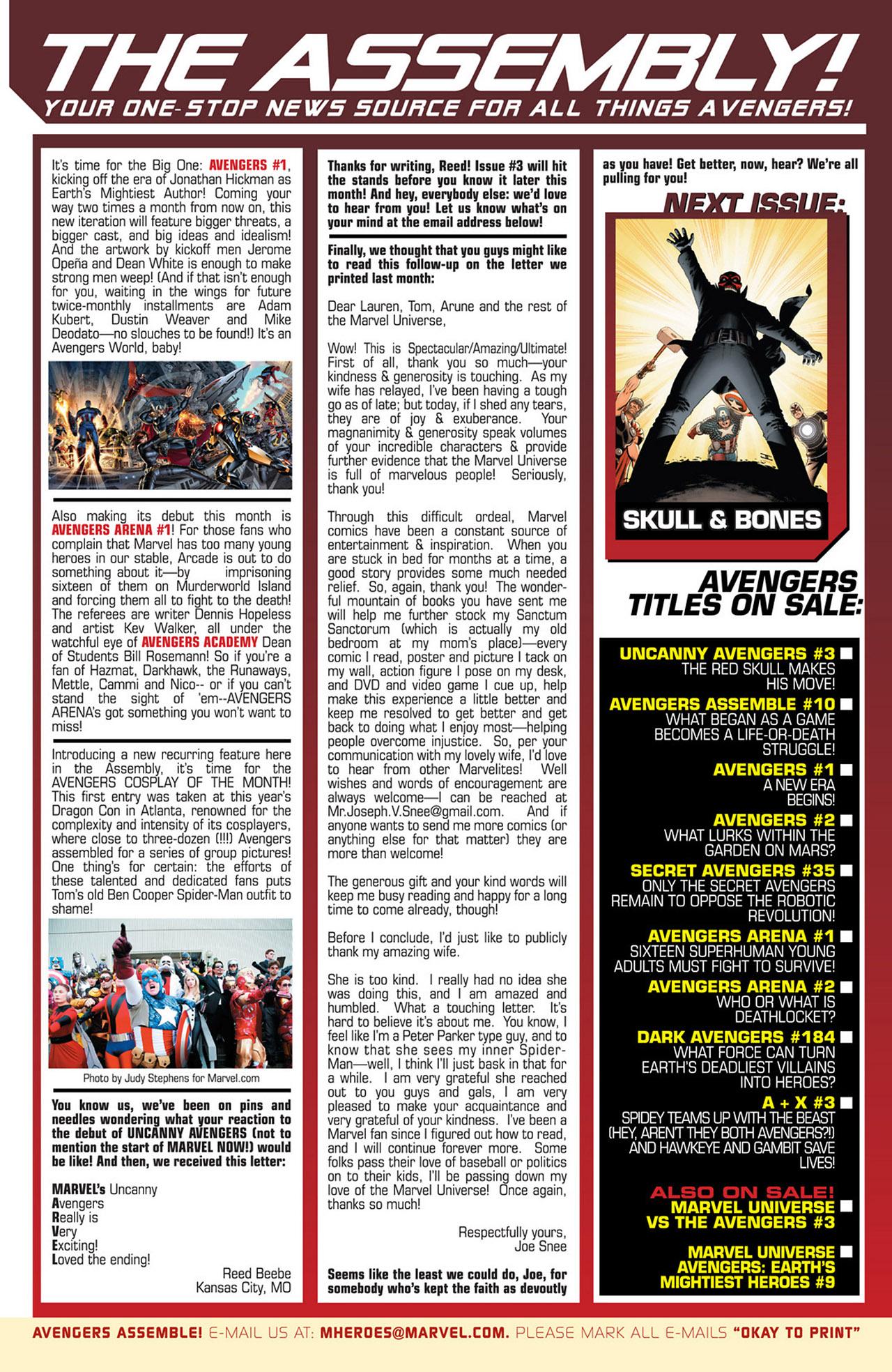 Read online Uncanny Avengers (2012) comic -  Issue #2 - 22