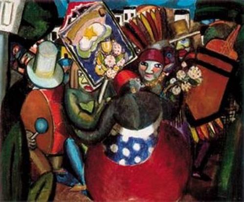 Carnaval 1924, pintura de Di Cavalcanti.