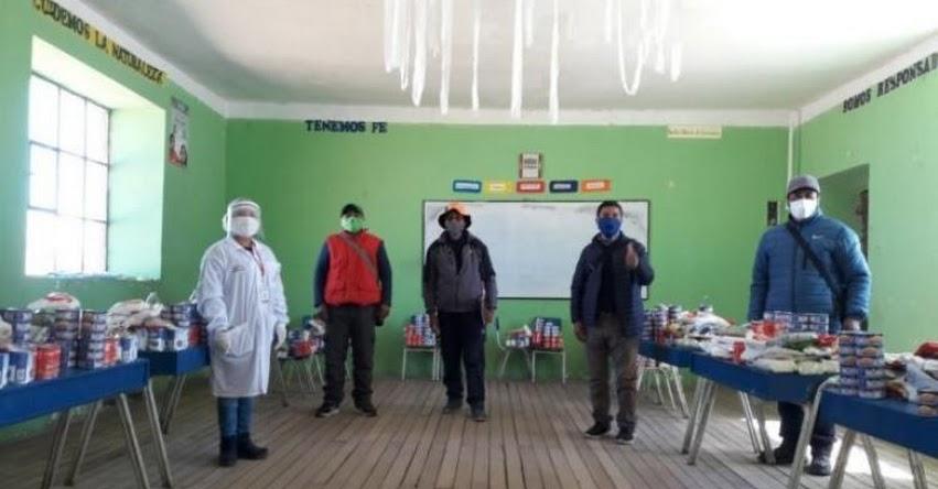 QALI WARMA: Programa social supervisa distribución de alimentos en las escuelas de Puno - www.qaliwarma.gob.pe