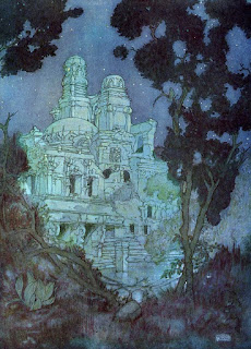 Ruins by Edmund Dulac