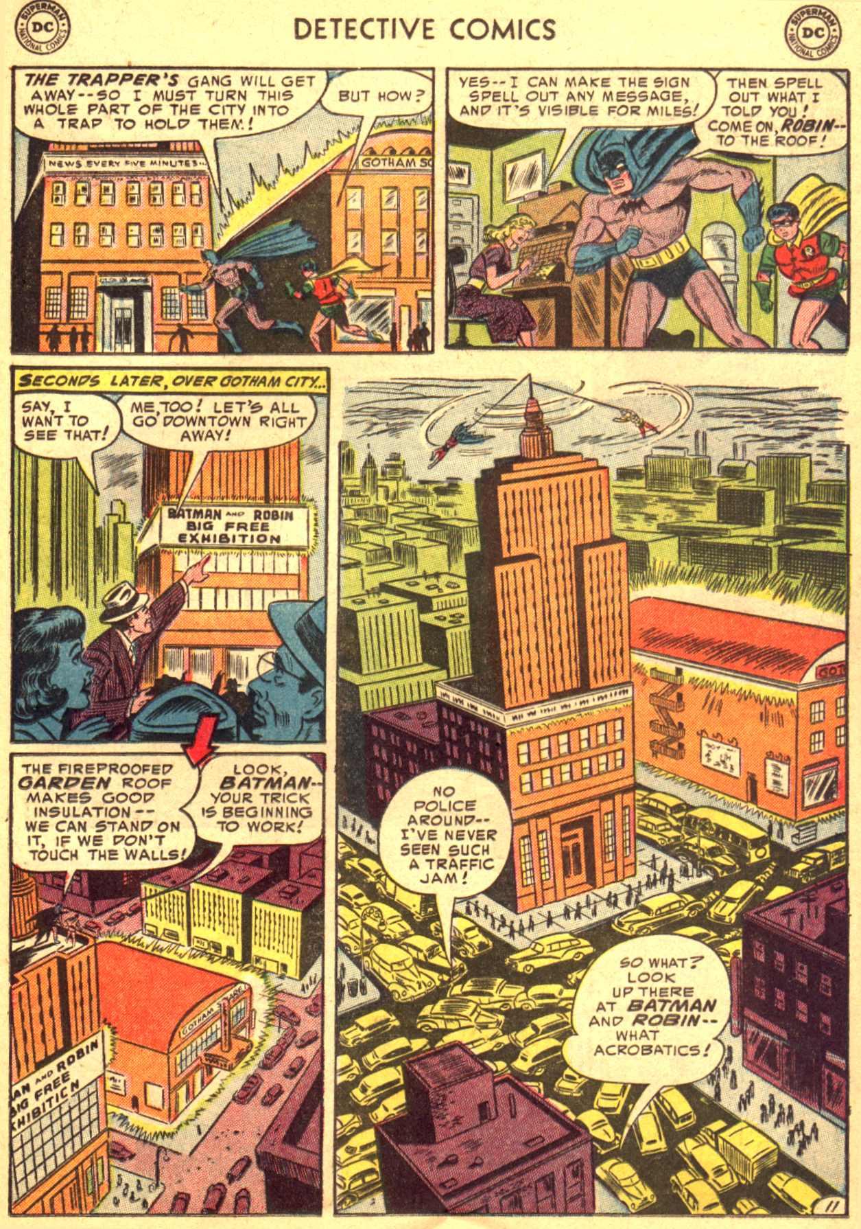 Read online Detective Comics (1937) comic -  Issue #206 - 11