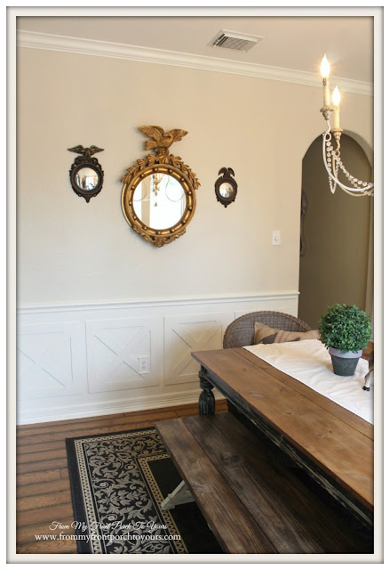 Federal Mirrors-Farmhouse-French Country Dining Room- From My Front Porch To Yours