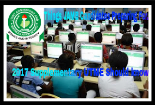 Image for JAMB Supplementary 2017