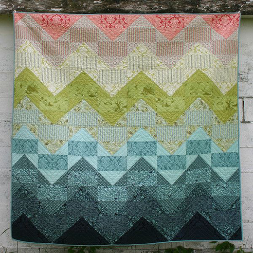 Tranquil Waters Quilt Free Pattern