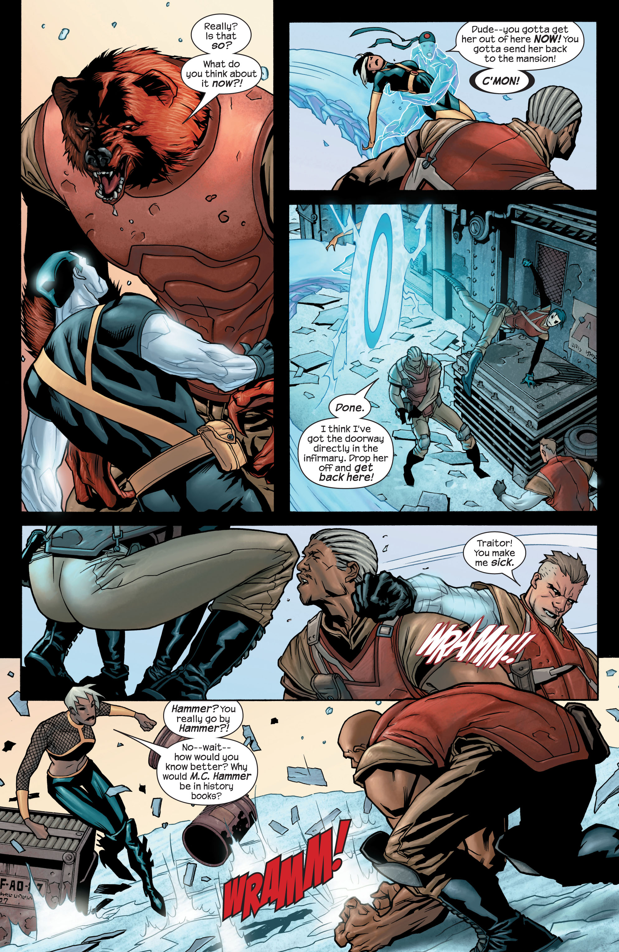 Read online Ultimate X-Men comic -  Issue #77 - 16