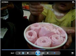 Ice Cream dan Juice