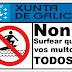 Multan Por Surfear Con Temporal. [Noticias Surf]