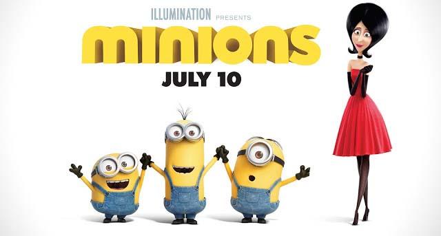 minions 2015 cover poster bercerita tentang adegan