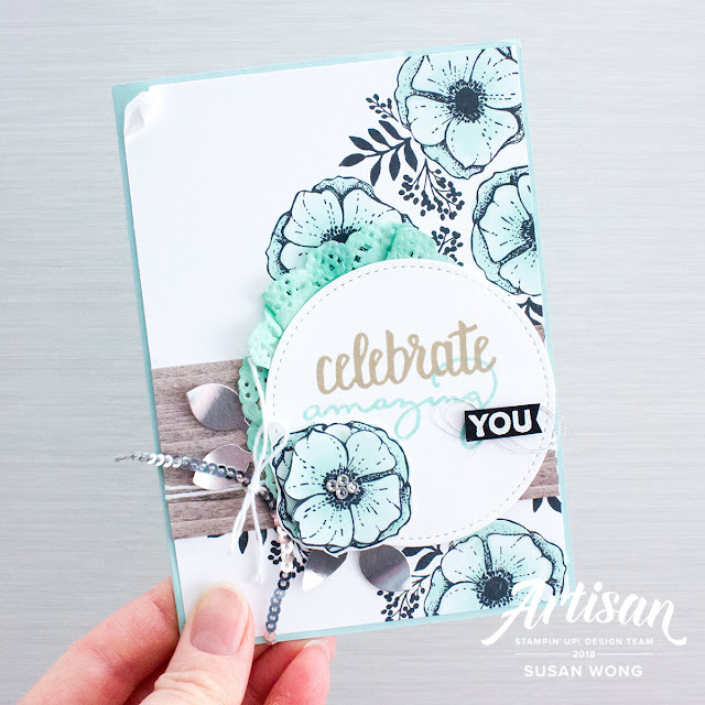 Amazing You Sale-A-Bration Stamp Set - Susan Wong for Artisan Design Team 2018