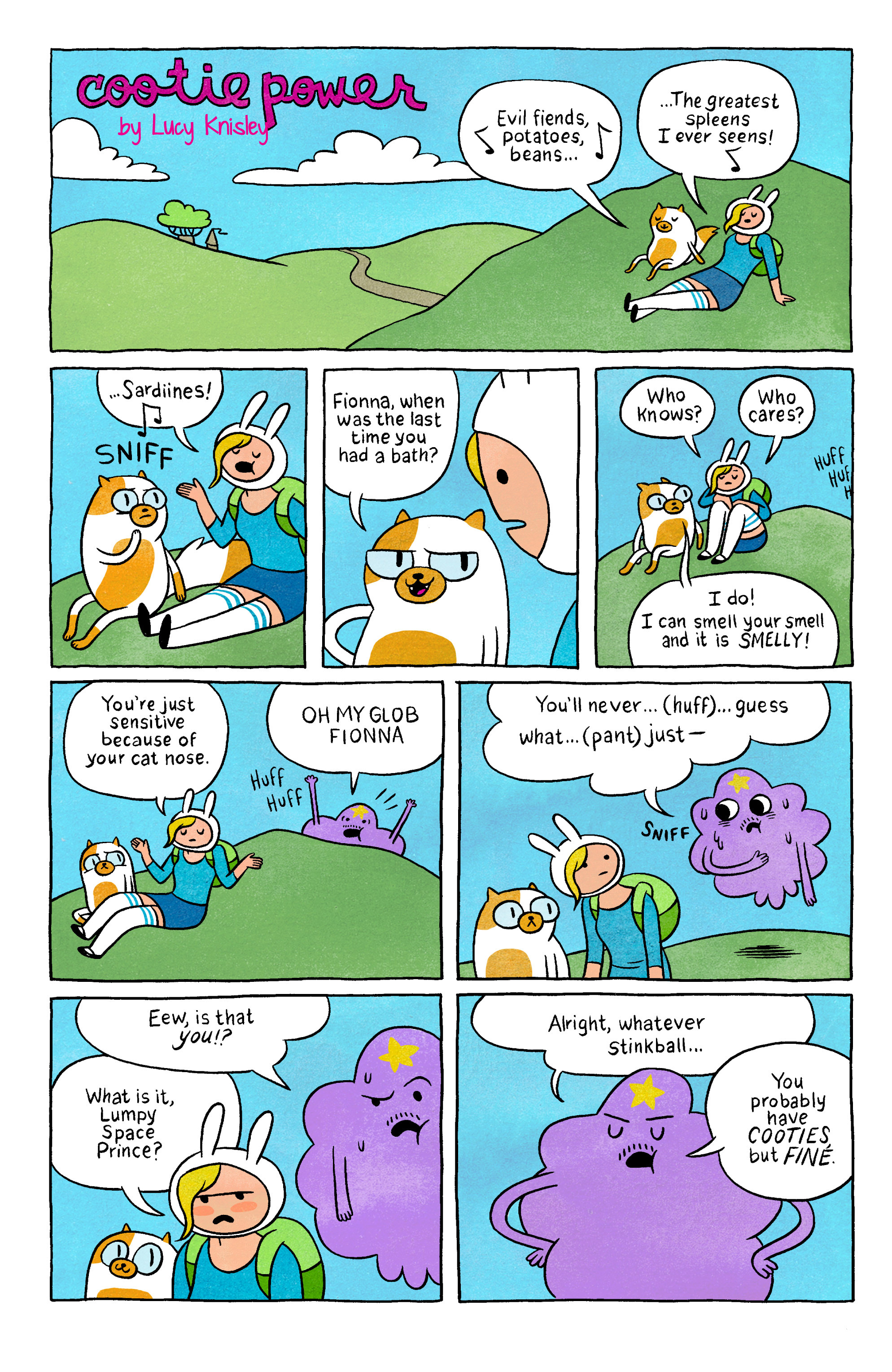 Read online Adventure Time with Fionna & Cake comic -  Issue #2 - 24