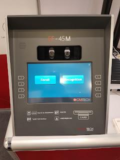 Biometrico de Iris en quiosco