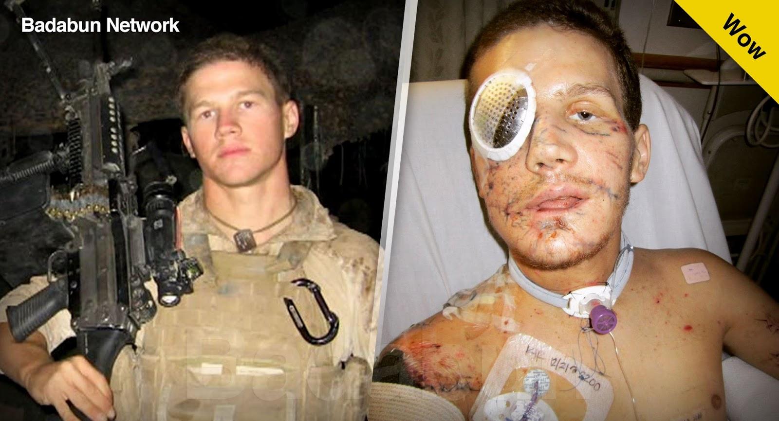 valiente soldado sacrifica salva amigo