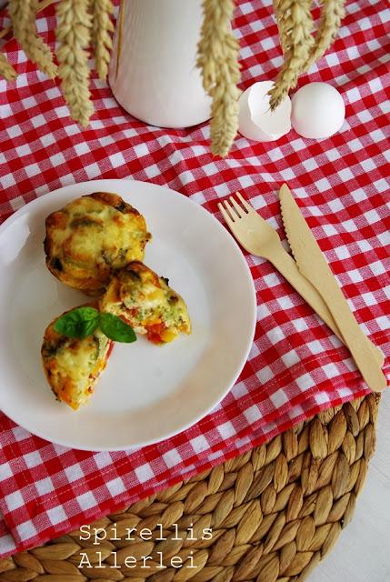 Spirellis Allerlei - Muffins mit Gemüse
