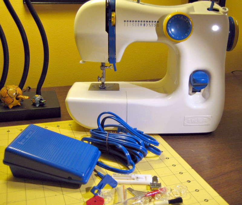Coco's Loft IKEA SY Sewing Machine Adorable How To Use Ikea Sewing Machine