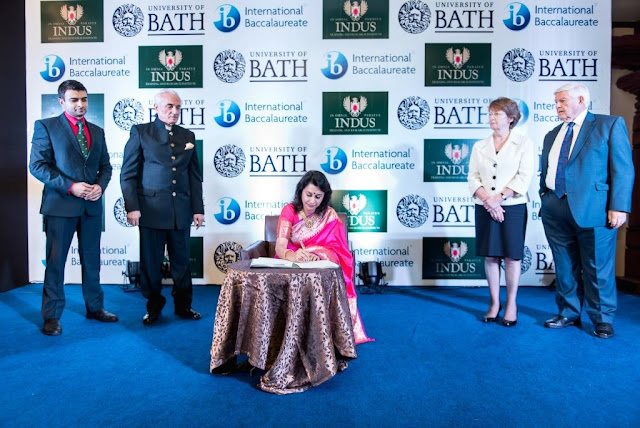 University of Bath, U.K  signs MOU with Indus Training and Research Institute (ITARI) to offer dual certification postgraduate teacher training programs